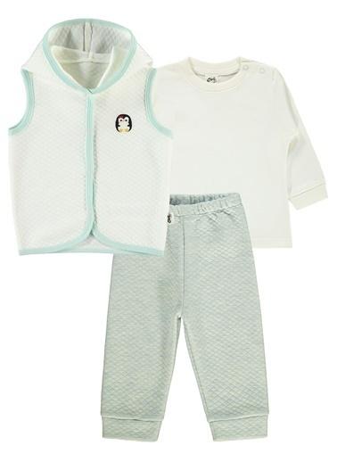 Civil Baby Civil Baby Kiz Bebek Yelekli Takim 6-18 Ay Mint Yeşili Civil Baby Kiz Bebek Yelekli Takim 6-18 Ay Mint Yeşili Renkli